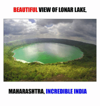 maharashtra: BEAUTIFUL  VIEW OF LONAR LAKE,  MAHARASHTRA, INCREDIBLE INDIA