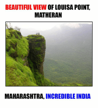 maharashtra: BEAUTIFUL VIEW  OF LOUISA POINT  MATHERAN  MAHARASHTRA,  INCREDIBLE INDIA