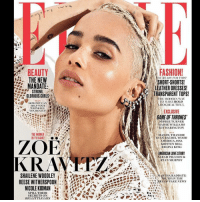 "zoekravitz for elleuk: BEAUTY  THE NEW  MANDATE  STRONG.  GLORIOUS CURLS  US  ow POT CAN  HELP YOUR  WRINKLES  YES, REALLY!  THE WOMEN  NTVISSUE  TOE  SHAILENE WOODLEY  NICOLE KIDMAN  SPILL THEIR  SECRETS ON  BIG LITTLE LIES  41  FASHION!  OL READY FOR TIIIS?  SHORT SHORTS!  LEATHER DRESSES  TRANSPARENT TOPS!  THE MODERN WAY  TO MAKE BOLD  OK BEAUTIFUL  EXCLUSIVE  GAME OF THRONES""  SOPHIE TURNER  MAISIE WILLIAMS  KIT HARINGTON  MANDY THAN DIE  EVAN RACHEL WOOD  AMERICA, ISSA  KRISTEN BELL  REGINA KING  MERICANLOVESTORY  SARAH PAULSON &  RYAN MURPHY  AND  MARTHA RADIOATT:  RUTII IN TIIE  ERA OF FAKE NEMS zoekravitz for elleuk"