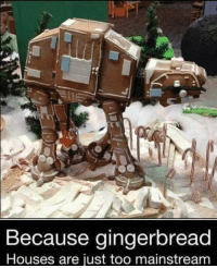 Memes, 🤖, and Gingerbread House: Because gingerbread  Houses are just too mainstream
