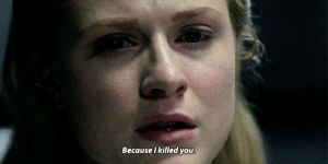 I cant help you. Why is that, Dolores?: Because I killed you I cant help you. Why is that, Dolores?
