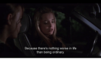 Life, Tumblr, and Blog: Because there's nothing worse in life  than being ordinary avouer:via weheartit