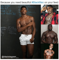 Beautiful, Memes, and Weave: Because you need beautiful #BlackMen on your feed  weave pras  atd  Sk  @blackstagram Because Black is beautiful! All the photos' owners tagged. blackexcellence blackpride blackandproud blackpower blackmen blackman blackkings blackking blackmenwithstyle blackmodel blackbeauty blackisbeautiful blackmodels