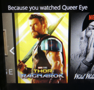 Queer Eye: Because you watched Queer Eye  NE