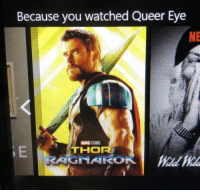 mckitterick: I mean: Because you watched Queer Eye  NE mckitterick: I mean