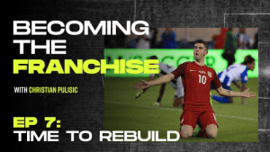 """I just picture myself with the US crest on, my family in the stands and thousands of Americans watching me at the World Cup, that's what inspires me the most.""   There's only one end goal for @cpulisic_10. #BecomingTheFranchise  📹: https://t.co/mnE4a7RYg3 https://t.co/hswON8XIZp: BECOMING  ΤHE  FRANCHSE  10  WITH CHRISTIAN PULISIC  ЕP 7:  TIME TO REBUILD ""I just picture myself with the US crest on, my family in the stands and thousands of Americans watching me at the World Cup, that's what inspires me the most.""   There's only one end goal for @cpulisic_10. #BecomingTheFranchise  📹: https://t.co/mnE4a7RYg3 https://t.co/hswON8XIZp"
