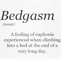 Climbing, Gym, and Cyber Monday: Bedgasm  (noun)  A feeling of euphoria  experienced when climbing  into a bed at the end of a  very long day. Bedgasm . @doyoueven 👈🏼 🖥 ENTER THE CYBER MONDAY GIVEAWAY to win $150 🎉