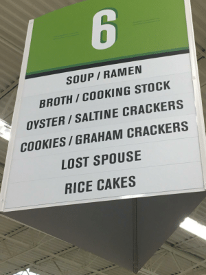 Been in this grocery store several times and just noticed the sign today.: Been in this grocery store several times and just noticed the sign today.