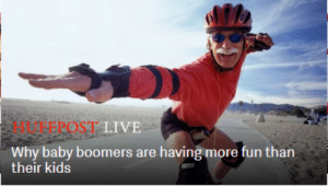 College, Target, and Tumblr: BEEPOST LIVE  Why baby boomers are having more fun than  their kids fannybawws:  Good luck with that crippling college debt, kiddo. Shaka brah!