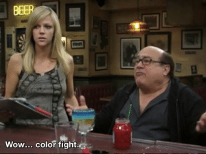 Me logging onto reddit this afternoon: BEER  Wow Color fight. Me logging onto reddit this afternoon