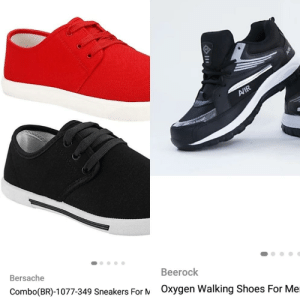 Funny, Reebok, and Shoes: Beerock  Bersache  Combo(BR)-1077-349 Sneakers For  OXygen Walking Shoes For Me Can't afford Versace? Presenting...Bersache! Reebok cutting a hole in your pocket? Opt for Beerock, fool!