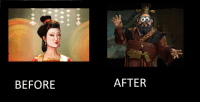 BEFORE  AFTER Graphics Comparison of Civ 5 and Civ 6