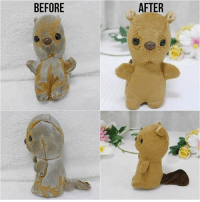 Nuigurumi Hospital in Japan will restore your broken stuff toys. Follow @9gag @9gagmobile 9gag plushie stufftoys implant surgery: BEFORE  AFTER Nuigurumi Hospital in Japan will restore your broken stuff toys. Follow @9gag @9gagmobile 9gag plushie stufftoys implant surgery