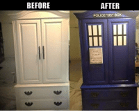 Boxing, Memes, and Police: BEFORE  AFTER  POLICE  BOX  FRI
