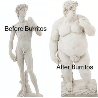 Classical Art, Fair, and Not-Fair: Before Burritos  After Burritos Life's not fair
