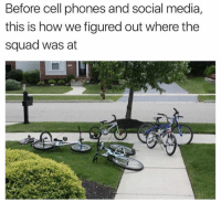 Dank, Social Media, and Squad: Before cell phones and social media,  this is how we figured out where the  squad was at Nostalgic
