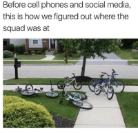 Facts, Funny, and Lol: Before cell phones and social media,  this is how we figured out where the  squad was at Facts lol