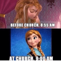 Stolen from Christian Memes on Facebook. #thoushaltnotsteal #oops #getreadyforchurch #mormonmemes #mormonprobs @mormonsgetit @mormonxmemes: BEFORE CHURCH, 8:55 AM  AT CHURCH, 9:00AM Stolen from Christian Memes on Facebook. #thoushaltnotsteal #oops #getreadyforchurch #mormonmemes #mormonprobs @mormonsgetit @mormonxmemes