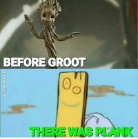 Memes, Marvel, and Never: BEFORE GROOT  THERE WAS PLANK From @the.geekguide - Never forget 😎😂 groot iamgroot plank ededdandeddy marvel mcu gotg gotg2