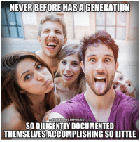 Memes, Selfie, and Free: BEFORE HASA  FREETHOUGHTPROJECT COM  THEMSELVESTACCOMPLISHINGSOLITIE So many selfies, so little knowledge   #FreeMindsFreePeople Join Us: The Free Thought Project