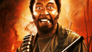 Robert Downey Jr., Tropic Thunder, and Canadian: Before he became the Canadian Prime Minister, Justin Trudeau was Robert Downey Jr's make up artist on 'Tropic Thunder' 2008.