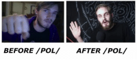 Dank, 🤖, and Before Pol After Pol: BEFORE /POL/ AFTER /POL/