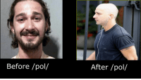 4chan, Pol, and  Before and After: Before /pol/  After /pol/ before and after /pol/