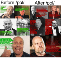 Fam, Future, and Life: Before /pol/  After /pol/  we wish to perserve  The property right in ones own body must be said  a free society,ites  to be justified a priori, anyone who would try  But odicaorship mavbeonecessarw  essentialthat we  to justify any norm whatsoever would already have  astem oratransitional period.  to presuppose the exclusive right to control over  necessary forecountry  At times t s  that the desirability of  his body as a validrnorm Smplythorder to say  tocave fora time Someformor  particular objec  propose such and such  otherafdotatotal Power As you will  not sufficient  understand ltes possible (ore  tato  justification for che use  govern aliberalway.And They th  of alte  of coercion  non-fam  entred  (orademocracyto  eS  so pos  govern withatotallack of liberalism.  such as, fo  ndividual  hedonism  liberal dictator  natu  Persona  hip, homosexuality  to a democrati  environme  lacking libe  have to be  or Commun  physically re  d from society, too  f one is to m  bertarian  Cops must be unleashed  and allowed to administe  t cannot be den  nstant punishment  that Fascism and  Unleash the cops to  Similar movement  ear the streets  ng at the  establishment of  bums End  grants  dictatorships are  Where  they go  of the best  ntentionsand that  ntervention has  Libertarianism holds that the  ppear that  for the moment, saved  move from the rank  only proper role of violence is to  European civilization  defend person and property  f the petted and  The merit that  To defeat the agressors is not  osseted bum class  Fascism has thereby  against violence, thatanyuseof  tself w  to the ranks of the  enough to make peace durable  violence that goes bevond such  n history  On  na  productive members  The main thing is to discard  just defense is itself aggressive  of society  the ideology that generates war  unjust, and crimina  You have to live your values  no longer believe that there's a patriarchy  reject violencetin your own life,  no lon