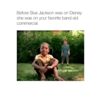 Aw: Before Skai Jackson was on Disney  she was on your favorite band-aid  commercial  ationships usa Aw