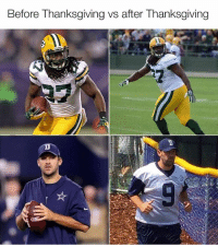 Nfl and After Thanksgiving: Before Thanksgiving vs after Thanksgiving