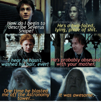 ✎✐✎ ↯ ⇢ Don't get me wrong, I do kinda like Snape (he's in the grey area for me, I feel sorry for him tbh), but this had to be said, I feel like this is just all of the judgements the fandom makes of him :') ↯ ⇢ I just went for another 2 hour drive this morning, and I'm going to be out for the most part of today again so I won't be as active rip, hope y'all have a good day tho haha ↯ ⇢ Go follow the account tagged because they're featured for the week! if you want to be featured for a week on my account simply tag your posts to PotterWeeklyAccount :) ✎✐✎ Birthday(s) Of The Day 👇🏼🎂🎉 ⇢ [ please notify me if it is your birthday today! ] ✎✐✎ My Other Accounts: ⇢ @TheWizardWeekly - [ account for blended-video-aesthetic edits ] ⇢ @MarvelsWomen - [ co-owned Marvel account ] ⇢ @HPTexts - [ co-owned Harry Potter text messages account ] ⇢ @LumosTutorials - [ co-owned instagram tutorial account ] ✎✐✎ QOTD : Jily (James and Lily) or Snily (Snape and Lily)? AOTD : CHALLENGE: Type your preference out letter by letter in the comments: begin to  potterweekly  describe Severus  He's a two-faced  Snape?  ying, piece of shit  APR  hear he hasn't He's probably obsessed  washed his hair, ever! with your mother  potter weekly  One time he blasted  me off the Astronomy  s It was awesome.  tower... ✎✐✎ ↯ ⇢ Don't get me wrong, I do kinda like Snape (he's in the grey area for me, I feel sorry for him tbh), but this had to be said, I feel like this is just all of the judgements the fandom makes of him :') ↯ ⇢ I just went for another 2 hour drive this morning, and I'm going to be out for the most part of today again so I won't be as active rip, hope y'all have a good day tho haha ↯ ⇢ Go follow the account tagged because they're featured for the week! if you want to be featured for a week on my account simply tag your posts to PotterWeeklyAccount :) ✎✐✎ Birthday(s) Of The Day 👇🏼🎂🎉 ⇢ [ please notify me if it is your birthday today! ] ✎✐✎ My Other Accounts: ⇢ @TheWizardWeekly - [ account for blen