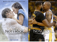 """RT @redapples: I loved David West's performance in the 'Notebook' sequel. https://t.co/9xWrtKIYi8: BEHIND EVERY GREAT LOVE IS A GREAT STORY  BEHIND EVERY GREAT PLAYER ARE GUYS LIKE THESE  sa  RYAN GOSLING JAMES GARNERSAM SHEPARD  RACHEL McADAMS GENA ROWLANDS JAMES MARSDEN JOAN ALLEN  RISTAN THOMPSON DAVID WESTKHLOE  THE  THE  NOTEBOOK  NOTEBOC  FROM THE BEST-SELLING NOVEL  mun.,""""'UN..!N4흘  www THENOTEBOOKAAOVIE.COM  THIS SUMMER  스60mlas  懋  ar. ,  JUNE 12 201 RT @redapples: I loved David West's performance in the 'Notebook' sequel. https://t.co/9xWrtKIYi8"""