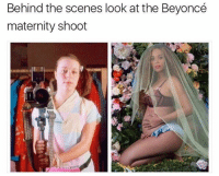 Memes, 🤖, and  Behind the Scene: Behind the scenes look at the Beyoncé  maternity shoot