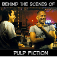 Pulp Fiction: BEHIND THE SCENES OF  GER  PULP FICTION