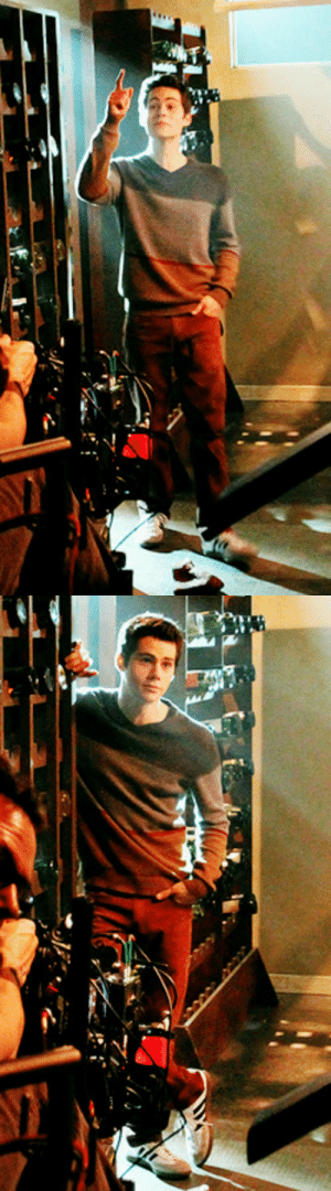 """behind the scenes of Teen Wolf 3x02 """"Chaos Rising"""" [x] :  behind the scenes of Teen Wolf 3x02 """"Chaos Rising"""" [x]"""