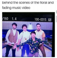 IM SO EXCITED CANT WAIT FOR THURSDAY: behind the Scenes of the floral and  fading music video  160 1.4  100-0315 IM SO EXCITED CANT WAIT FOR THURSDAY