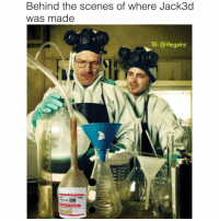 Memes, 🤖, and Soul: Behind the scenes of where Jack3d  was made  1G: @thegainz  Jack3d Pure as my soul 💎