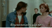 The Breakfast Club (1985): Being bad feels pretty good, huh? The Breakfast Club (1985)