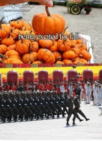 Fall? October 1st? I love fall! #JustPLAThings  ~Peng Dehuai-彭德怀: being excited for fall Fall? October 1st? I love fall! #JustPLAThings  ~Peng Dehuai-彭德怀