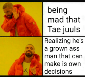 Public shame is a main reason why idols commit suicide: being  mad that  Tae juuls  Realizing he's  a grown ass  man that can  make is own  decisions Public shame is a main reason why idols commit suicide
