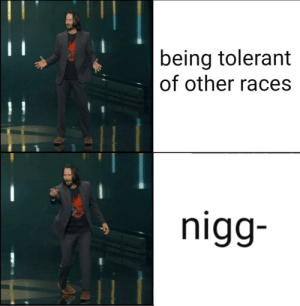 Bruh, Reddit, and Moment: being tolerant  of other races  nigg- Bruh moment