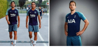Barcelona, Memes, and Nike: beko  beko  AIA Nike didn't care about creating a new kit for Spurs so they just gave them Barcelona's training kit...   https://t.co/iMbsp4FJZ2
