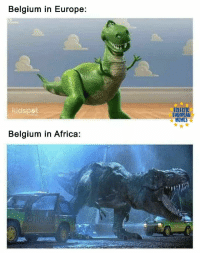 "Africa, Belgium, and Memes: Belgium in Europe:  ECLECTIC  UROPEAN  MEMES  kidspet  Belgium in Africa: <p>This seems like a versatile format with a lot of potential for returns. via /r/MemeEconomy <a href=""https://ift.tt/2kIUHG9"">https://ift.tt/2kIUHG9</a></p>"