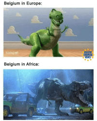 Africa, Belgium, and Europe: Belgium in Europe:  kicdspet  ECLECTIC  EUROPEAN  Belgium in Africa Title