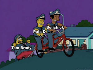 Patriots this season... https://t.co/yXoFyOf21I: Belichick  Pats D  Tom Brady  @GhettoGronk Patriots this season... https://t.co/yXoFyOf21I