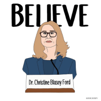Dr. Christine Blasey Ford to Donate GoFundMe Money to Sexual Assault Survivors: BELIEVE  Dr. Christine Blasey Ford  aSOGAYJEN Dr. Christine Blasey Ford to Donate GoFundMe Money to Sexual Assault Survivors