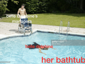 Her, Belle, and Friend: belle Dehine's  managers  gettyimages  Marcelo Santos  belle daphine  her bathtub  b10062080a-003 my friend made this