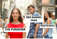 Target, Tumblr, and Blog: BEN BARNES  FANS  WESTWORLD  THE PUNISHER iheartbinbons:  last one I promise