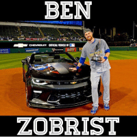 The World Series MVP, Ben Zobrist, with his brand new Chevy Camaro! worldseries MVP 🏆 - Follow @thehouseofluxuries for more sick cars and mansions! 🔥: BEN  CHEVROLET OFFICIAL VEHICLE 0F  PROGREUTVE  HERWIN  MLB HETWORK  WILLIAMS.  ZOBRIST The World Series MVP, Ben Zobrist, with his brand new Chevy Camaro! worldseries MVP 🏆 - Follow @thehouseofluxuries for more sick cars and mansions! 🔥