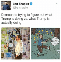 Happy mother day, my dudes. I hope none of you messed up your Mother's Day gift like I did: Ben Shapiro  abenshapiro  Democrats trying to figure out what  Trump is doing vs. what Trump is  actually doing  BANG Happy mother day, my dudes. I hope none of you messed up your Mother's Day gift like I did